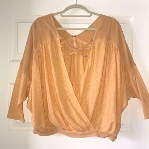 Free People LS Blouse